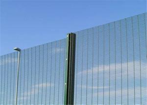China Galvanized 358 security mesh fence panels or anti cut 358 welded mesh on sale