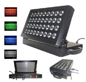China 36 * 12W 4-in-1 Folding Sound Activated Wall Wash Light, Led Stage Lighting Fixture on sale