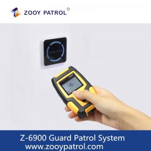 China ZOOY Z-6900 GPS GPRS Guard Patrol System SecurityGuard Patrolling Monitoring System with Cloud Software on sale