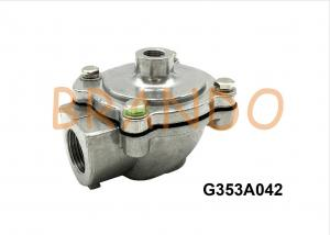 China ASCO Type Aluminum Alloy Air Control Right Angle Pneumatic Power Pulse Valve G353A042 on sale