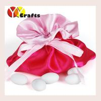 Wedding Hot Pink Candy Bags For Party , Wedding Party Favor Bags