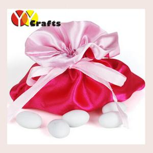 China Wedding Hot Pink Candy Bags For Party , Wedding Party Favor Bags on sale