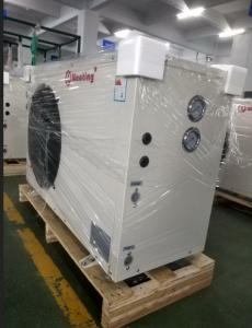 China Heating House Home Heat Pump 220V or 380v 12KW Stainless Stell Shell on sale