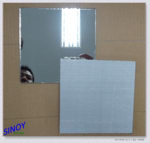China Aluminium Safety Processed Mirror Glass Decorative For Wardrobes on sale