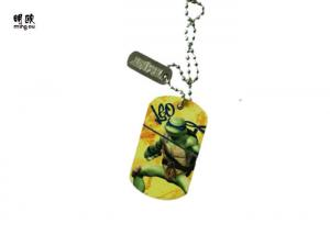 China Fashionable Metal Dog Tag For Soldiers Unique Identification 38g on sale