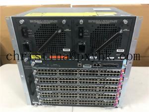 China Cisco WS-C4506-E Chassis Server Rack Fan  Cooling  WS-X45-SUP7-E 2x WS-X4748-UPOE+E 3x WS-X4648-RJ45V-E on sale