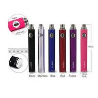 Black Slim EVOD Kanger E Cigarette , 650mah Variable Voltage E Cig For Lady