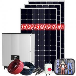 China 4KW 10KW Off Grid Solar System Mono 390W PV Solar Panels on sale
