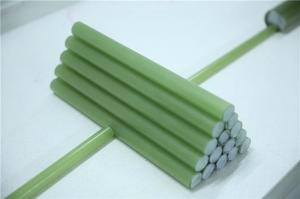 China High Voltage power supply Fiberglass Rod/Epoxy fiberglass rod on sale