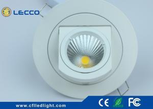 China O ponto Recessed ângulo do diodo emissor de luz da rotação 360° ilumina o tipo 500LM do tronco IP20 on sale