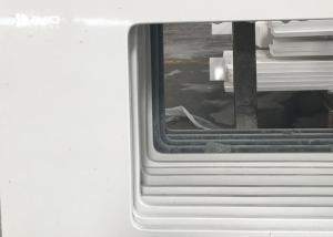 China Popular Solid Surface White Quartz Countertops , Kitchen Quartz Vanity Tops on sale