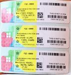 Full Version Computer Software System Microsoft Win 10 Pro COA License Sticker Windows 10 pro COA Sticker retail key