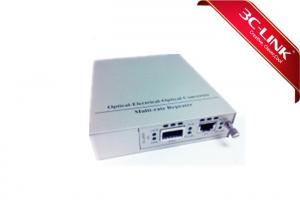 China High Performance Fiber Optic Media Converter Serial Port SFP+ 10G Media Converter on sale
