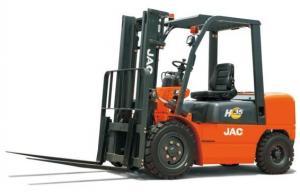 China Isuzu Engine Diesel Powered Forklift 3.5 Ton , Diesel Engine Forklift Truck High Performance on sale
