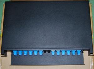 China Drawer type 24 port Fiber Optic Patch Panel on sale