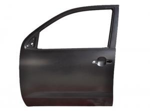 China Steel Toyota Hilux Vigo Parts , LH / RH 2004 - 2015 Black Car Front Door on sale