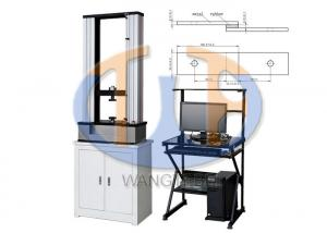 China Tensile Shear Strength Testing Machine For Vulcanized Rubber Adhesive To Metal on sale