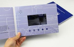 China 4.3'' 5'' 7'' lcd screen Wedding invitation card box,metal business card bottle opener,wedding greeting card on sale