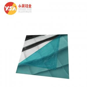 China Reflective T851 1500mm Width 0.3mm Thick Mirror Aluminum Sheet on sale