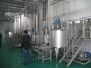 China Smart Integrated Yogurt Production Line Equipment For Standardized Milk on sale