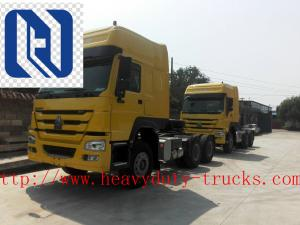 China SINOTRUK HOWO A7 LHD International Tractor Truck 6X4 Euro2 420HP ZZ4257V3247N1B on sale