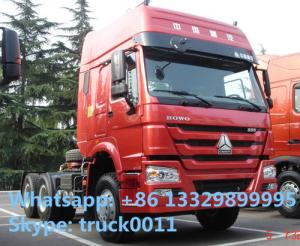 China HOWO  6*4 336hp semitrailer tractor head, hot sale best price SINO TRUK HOWO 6*4 336hp/371hp diesel tractor head on sale