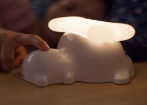 China Rechargeable Puppy Decorative Led Night Lights , Touch Sensor Dimmable Led Baby Night Light on sale