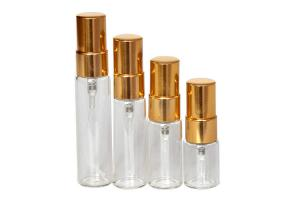 China 2 Oz Cosmetic Glass Bottles / Cosmetic Pump Bottles Cylindrical Shape on sale