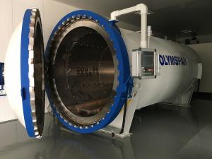 China 3M Length CE Composite Autoclave For Carbon Fiber / Rubber Curing And Treatment on sale