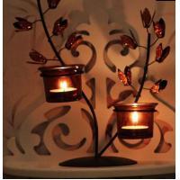 European rural life decoration Wrought iron candlestick