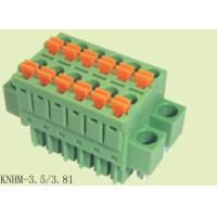 Finger Proof High Temperature Terminal Block For Single Wire Inserted Directly