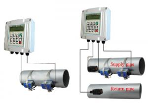 China Insert doppler Ultrasonic Flow meter for volume flow measurement on sale