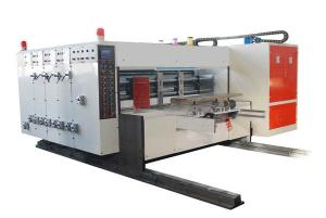 China Automatic Flexo Printing Slotting Die-cutting Machine, Automatic Lead-edge Feeding on sale