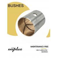 Inch Valve Bushing Flanged Steel Bimetal Bushing For Hydraulic Industry