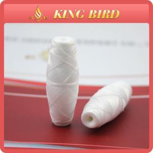 China High Tenacity Raw White Cocoon Bobbin Thread Yarn for Schiffli Machine on sale