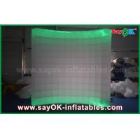 China Foldable Photo Booth Inflatable Lighting Wall Backdrop In Wedding on sale