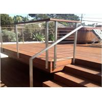 China Custom stainless steel handrail wire handrail systems cable railing on sale