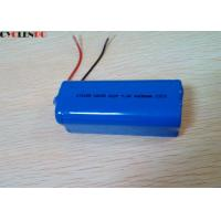 China 7.4v 4400mah Rechargeable Lithium Ion Battery Pack Flashlight /  Power Tools Application on sale