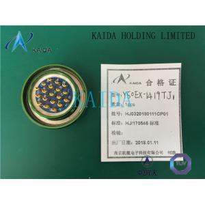 China Y50EX-1419TJ1 Bayonet quick connection Interface sealing EMI/RFI shielding crimp solder Y50 Circular Power Connector on sale