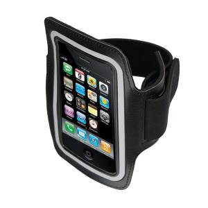 China Neoprene Sports Arm Band for iPhone 4 4s Running Armband Black on sale