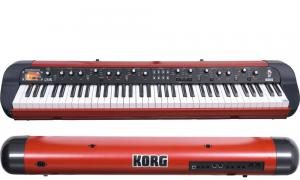 China Korg SV-1 73 Note Stage Vintage Piano-Stage Vintage Piano, Metallic Red on sale