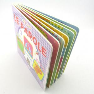 China Docket Book On Demand Children Color China Hardcover Board Book Printing Company on sale