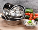 Wholesale Stainless Steel Mixing Bowl set for kitchen 14,16,18,20,22,24,26cm