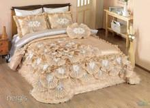 China Hot Selling Luxury Lace Bedspread Sets on sale