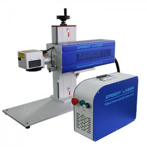 China Galvo CO2 30W Laser Engraving Machine / CO2 Laser Marker For Engraving Wood Acrylic on sale