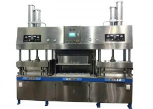 China Disposable Semiautomatic Paper Pulp Molding Paper Plates Making Machine on sale