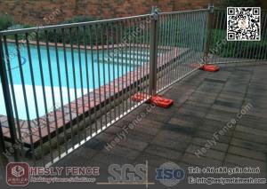 China Australia Temporary Pool Fencing 1.35m high | China Temporary Pool Fence Exporter on sale