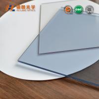 China Anti Static 4x8 Clear Acrylic Sheet 21mm Thick , 4x8 Plexiglass Sheet Optical Base Material on sale