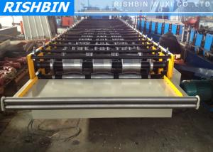 China Full Automatic Arch Glazed Roof Panel Roll Forming Machine Roof Sheet Cold Bending on sale