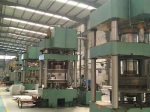 500 Ton Hydraulic Press Brake Machine For Milk Tank Head